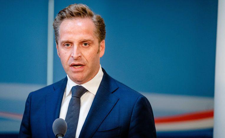 Minister van volksgezondheid Hugo de Jonge. Beeld ANP