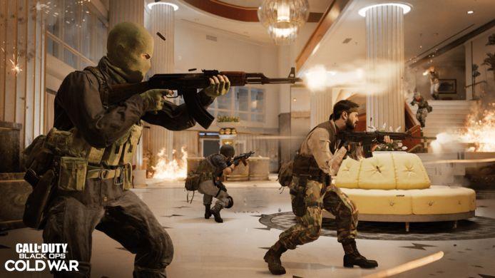Zoals vanouds dienen de decors van de verhaallijn meteen ook als multiplayerarena's.