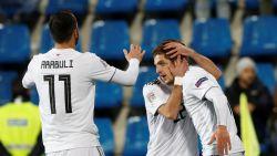 NATIONS LEAGUE. En dat onder toeziend oog van Barcelona-scouts: Chakvetadze scoort vierde goal in zes interlands