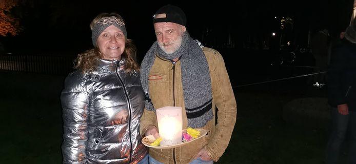 Walter en Patricia Vereycken-Clauwaert.