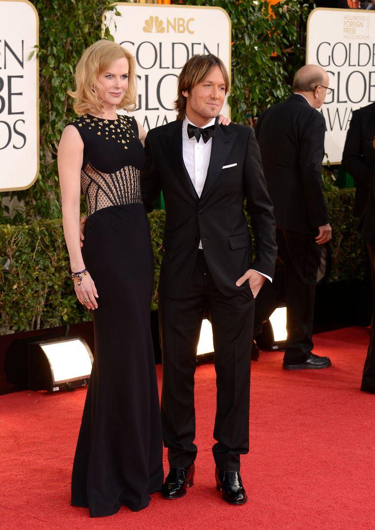 Nicole Kidman en Keith Urban Beeld GETTY