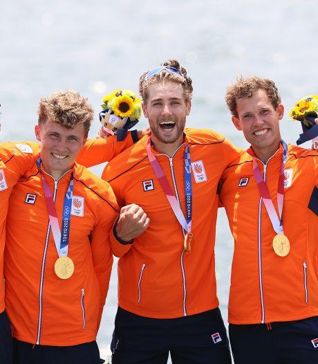 Enorme ontlading bij gouden roeier Metsemakers uit Hasselt na heroïsche race én coronaperikelen: 'We hadden iedere dag stress'