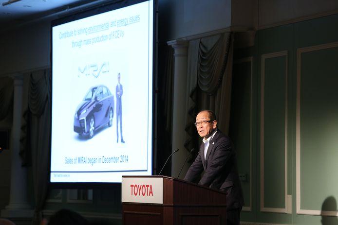 Yoshikazu Tanaka, de projectleider achter de nieuwe Toyota Mirai