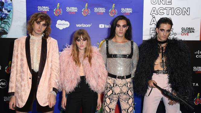 Songfestivalwinnaar Måneskin treedt op bij MTV EMA's