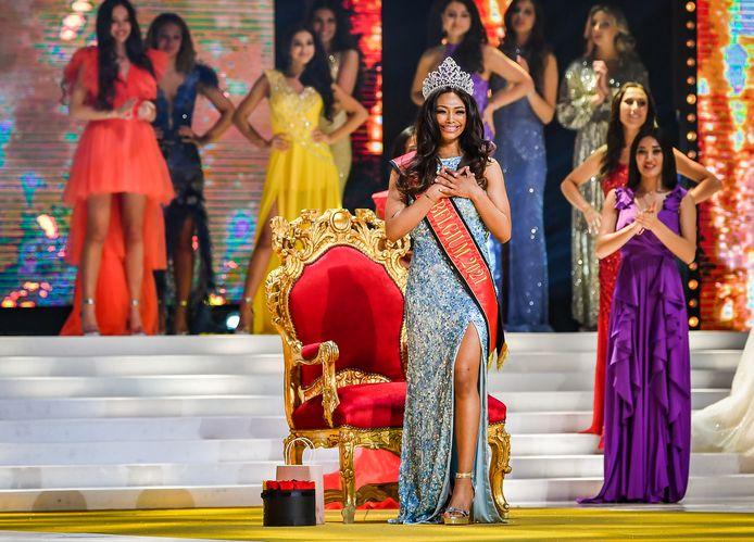 Kedist Deltour a été élue Miss Belgique 2021 le 31 mars.