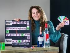 Drankspel van Romy (19) blijkt een hit in coronatijd: 'Jongeren hebben hier behoefte aan'