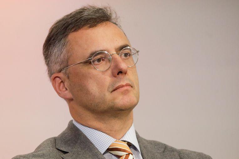 Joachim Coens. Op papier is hij de ideale CD&V-voorzitter, maar alles aan Coens lijkt een beetje grijs.  Beeld BELGA