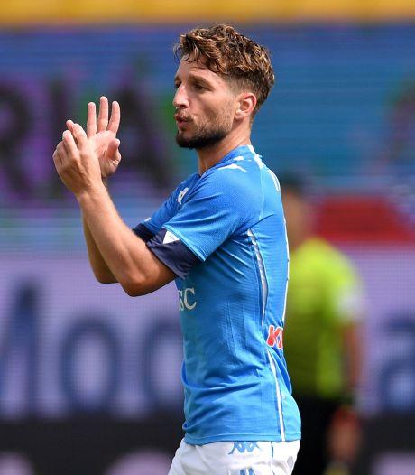 Premier but de la saison pour Dries Mertens