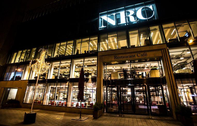 Het hoofdkwartier van NRC in Amsterdam.  Beeld ANP