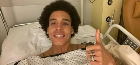 """Axel Witsel donne de ses nouvelles après son opération au tendon d'Achille: """"Je reviendrai plus fort"""""""