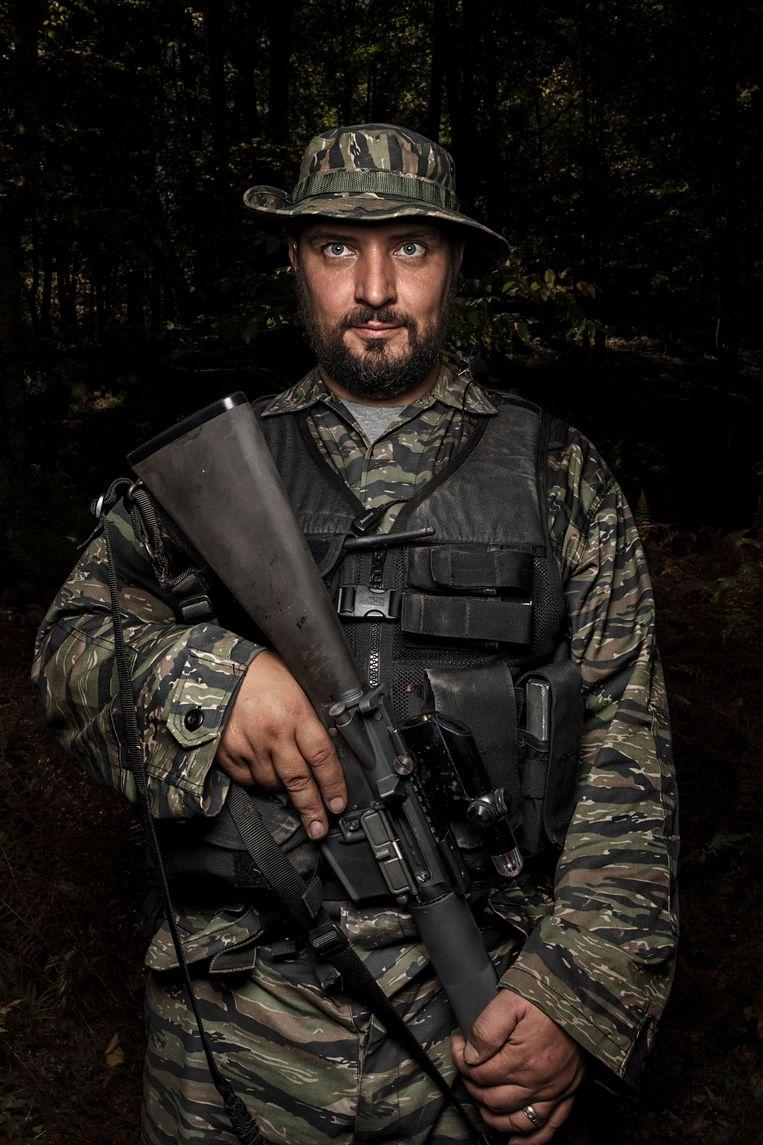 Loren LaVoy (38). Beeld © Espen Rasmussen/Verdens Gang/Panos Pictures