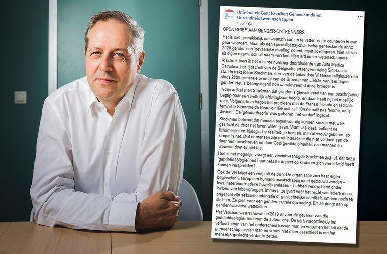 Dokter Piet Hoebeke. Beeld Wannes Nimmegeers