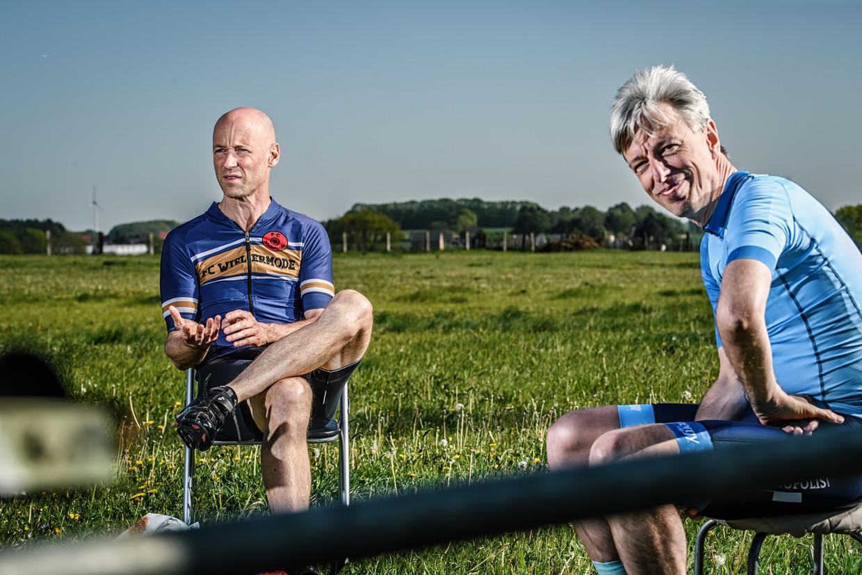 Geert Meyfroidt en Geert Noels. Beeld Geert Van de Velde