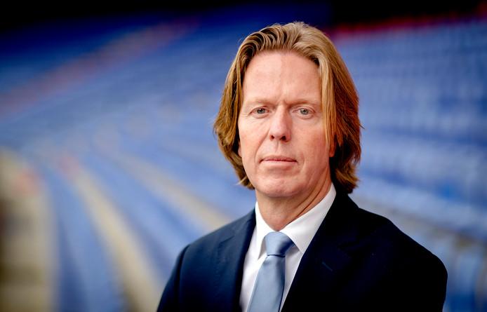 Algemeen directeur Jan de Jong in De Kuip.