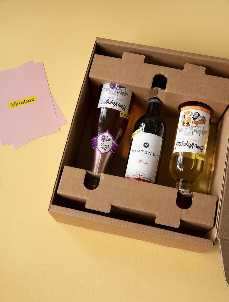 Vinobox alcoholvrije variant Beeld -