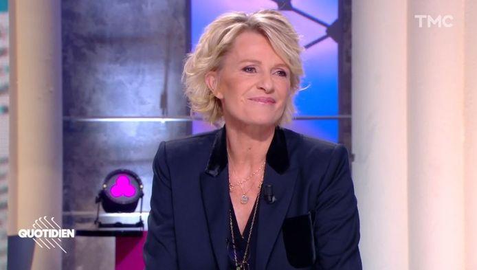 """Sophie Davant sur le plateau de """"Quotidien"""""""
