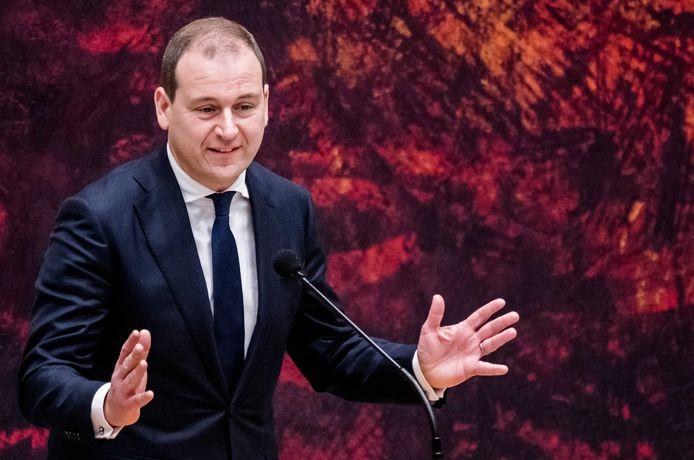 Lodewijk Asscher afgelopen december tijdens een debat in de Tweede Kamer.