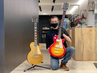 """Gentse chocolatier maakt geliefde gitaar levensgroot na in chocolade: """"Ik heb mijn twee grootste passies gecombineerd"""""""