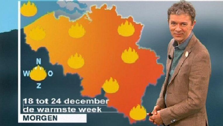 Frank Deboosere smokkelt Warmste Week in weerbericht | TV ...
