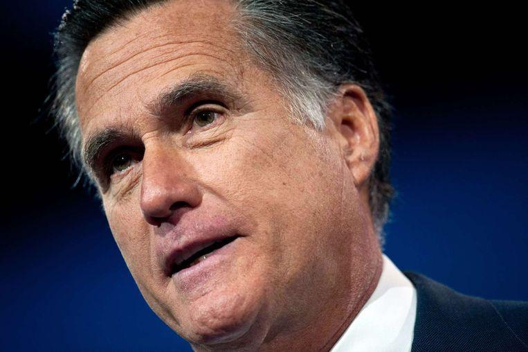 Mitt Romney Beeld afp