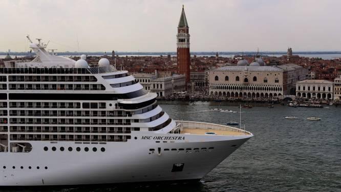 Grote cruiseschepen vanaf augustus verboden in historisch centrum van Venetië