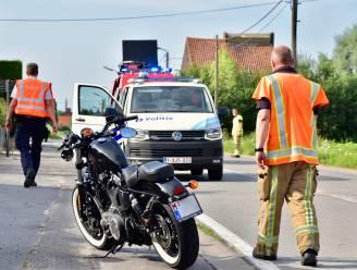 Vader en dochter op Harley gewond bij ongeval op voorrangsweg
