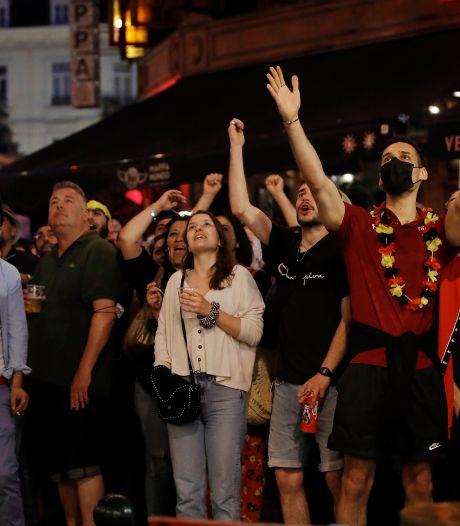 Plus de 3,8 millions de Belges devant leur écran pour le match contre le Portugal