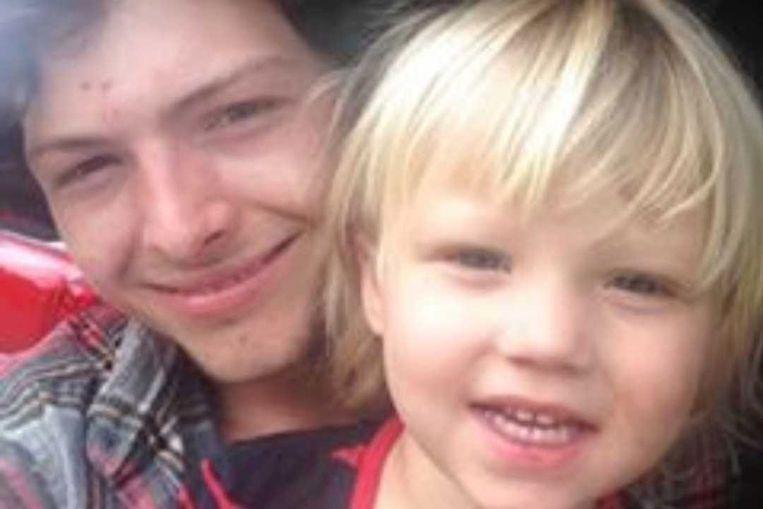 De opgepakte Jake Wagner, hier samen met zijn dochter Sophia, zette na de moorden een GoFundMe-crowdfundingsactie op.