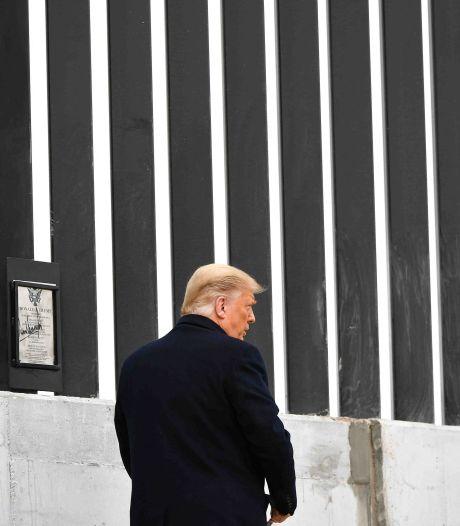Trump brengt bezoek aan zuidgrens VS op uitnodiging van gouverneur Texas