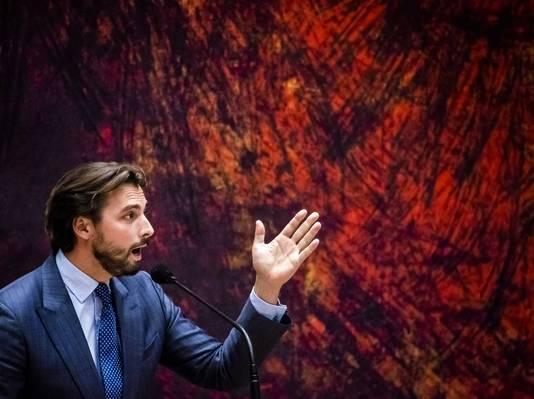 Een meerderheid van de achterban van Thierry Baudet (Forum voor Democratie) ziet de coronamaatregelen niet zitten.