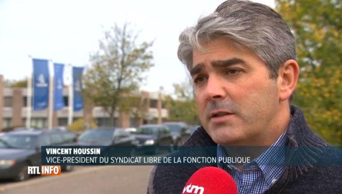 Vincent Houssin, vice-président du SLFP