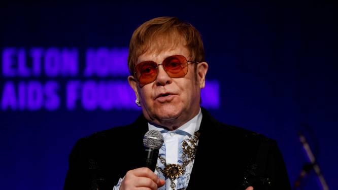 Elton John stelt hervatting van afscheidstournee weer uit