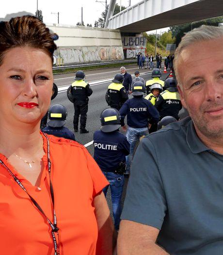 Kermisexploitanten Albert uit Apeldoorn en Ida uit Zutphen balen van blokkade op A12: 'Heel nutteloos'