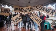 600 leerlingen houden klimaatmars door Lummen: burgemeester belooft elektrische deelauto's