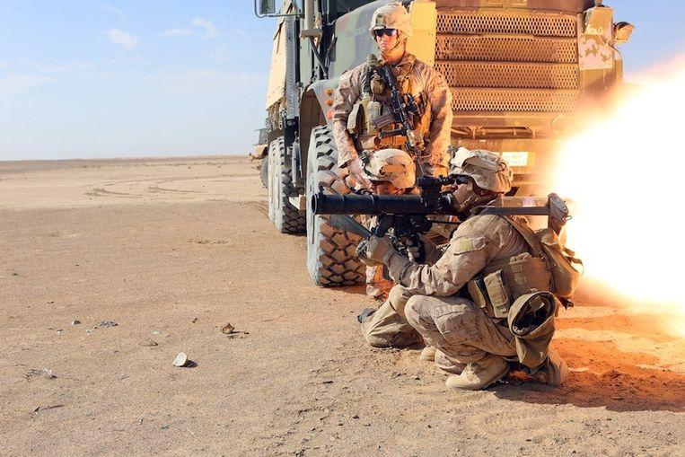 De Dragon-antitankraket werd door Amerikaanse eenheden zowel in Irak als in Afghanistan ingezet. Beeld US Marines