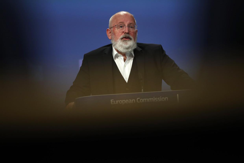Frans Timmermans. Beeld EPA