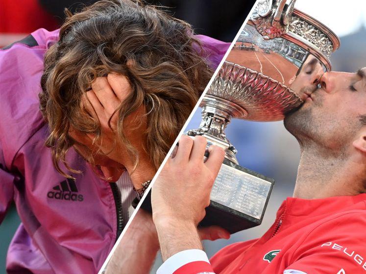 Novak Djokovic wint Roland Garros