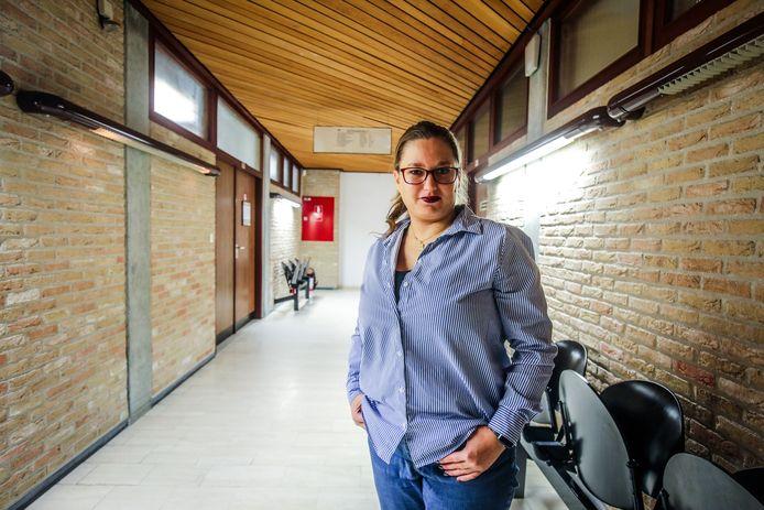 Hot Marijke vorig jaar in de rechtbank van Veurne.