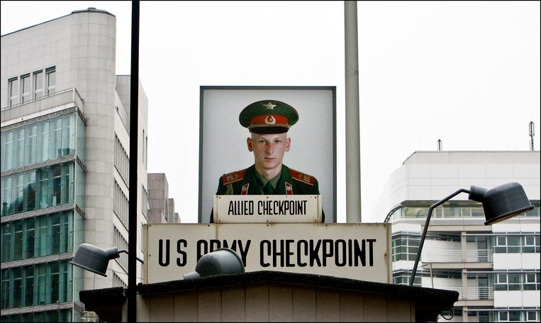 Checkpoint Charlie. Beeld Hollandse Hoogte /  ANP