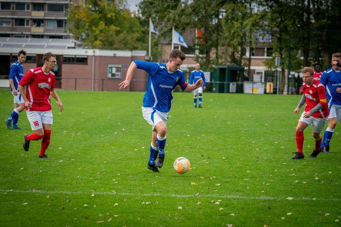 Eendracht Arnhem in de laatste wedstrijd van dit seizoen tot nu toe, thuis tegen Dierensche Boys.
