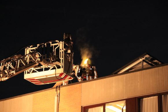 De brandweer had de brand vrij snel onder controle.