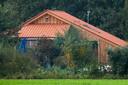 De boerderij in Ruinerwold waar vader Gerrit Jan van D. met zijn zes kinderen in totale afzondering leefde.