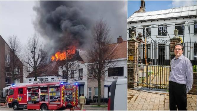 """""""Het is voorgoed gedaan met De Clesse, als het onderzoek nog veel langer duurt"""": uitbater Patrick (42) stilaan radeloos na dubbele brand"""