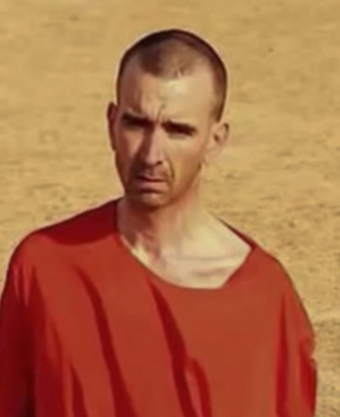 Britse gijzelaar David Haines.