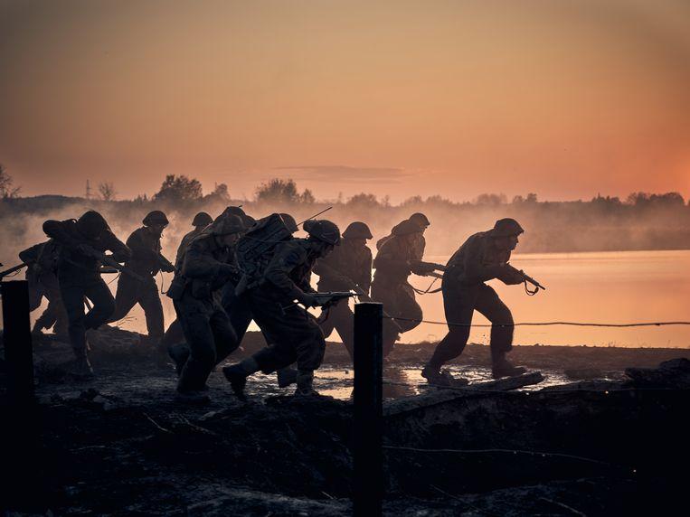 Slag om de Schelde is een van de duurste Nederlandse producties ooit.  Beeld Mark de Blok