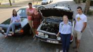 Met oldtimers 4.500 kilometer door Europa