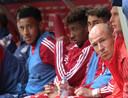 In de herfst van zijn carrière zat Robben vaker dan hem lief is op de bank.