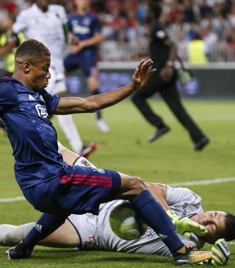 Bekijk hier het duel van Ajax met Nice terug