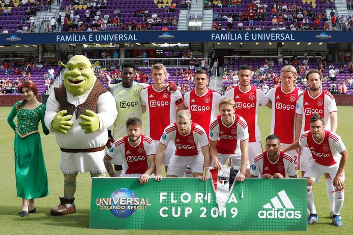 Ajax met de bekende gezichten in Orlando. Nou ja, ook een paar verrassende...