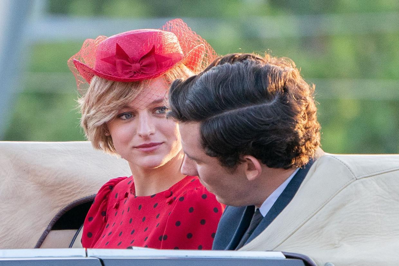 Emma Corrin als prinses Diana in 'The Crown' Beeld Netflix